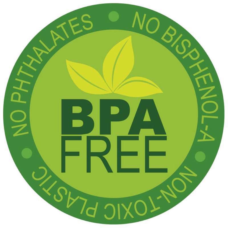 BPA free - Non-Toxic Plastic