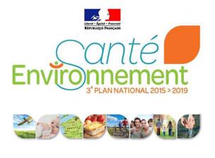 Santé Environnement 3e plan national 2015 > 2019