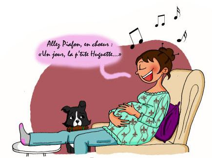 Bébé sensible aux ondes de la voix maternelle